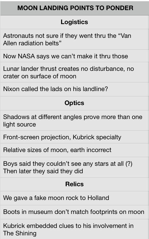 moon hoax evidence pages screen shot